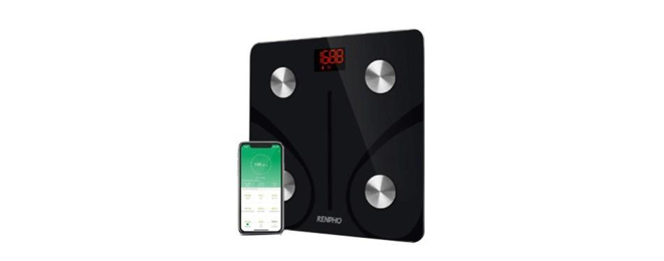renpho bluetooth body fat scale smart bmi digital scale