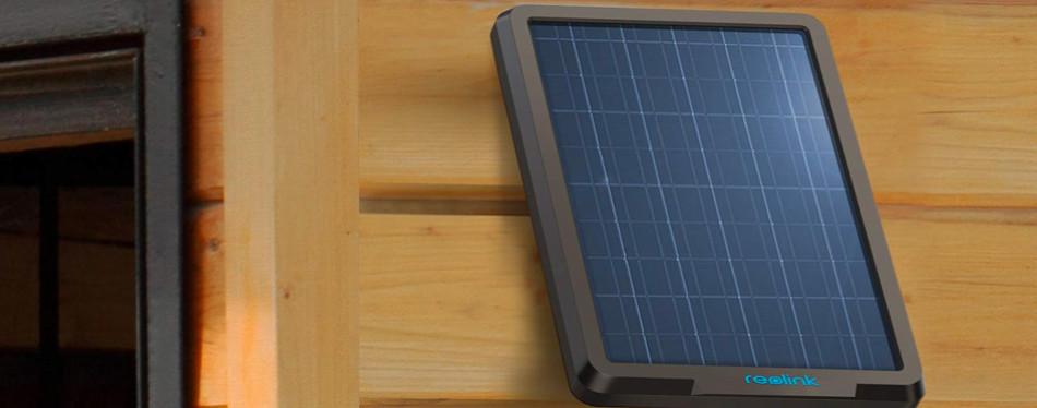 reolink solar panel wireless power supply