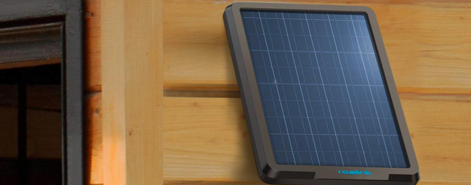 reolink solar panel wireless power supply