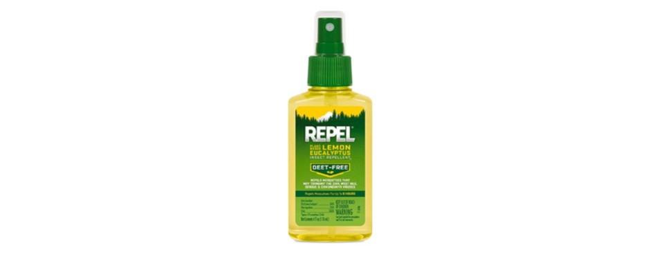 repel plant based lemon eucalyptus insect repellent