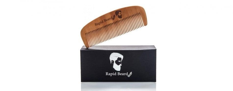 repsol care beard brush and beard comb