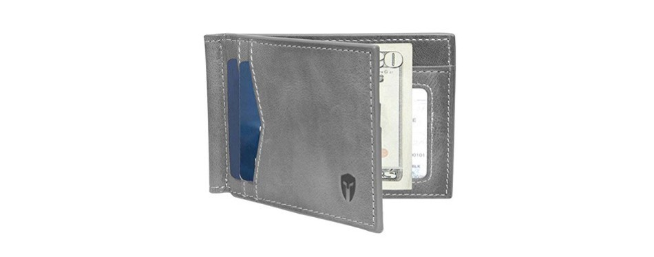 rfid blocking slim minimalist front pocket wallet