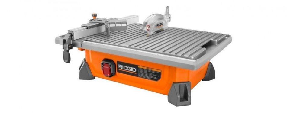 ridgid r4020 portable job site wet tile saw
