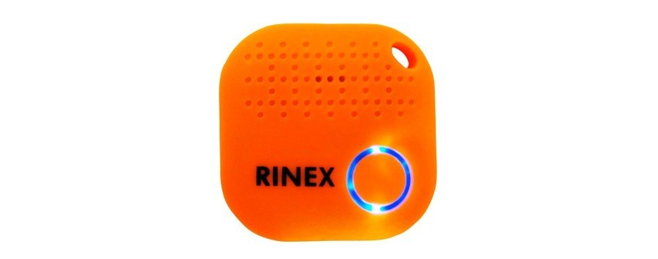 rinex's bluetooth luggage tracker