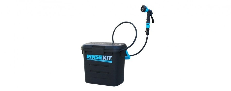 rinse kit pressurised portable shower