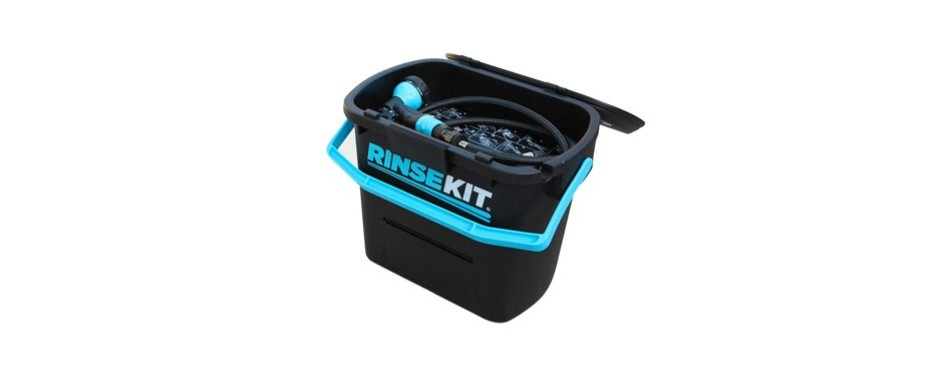 rinse kit rinsekit pressurized portable shower