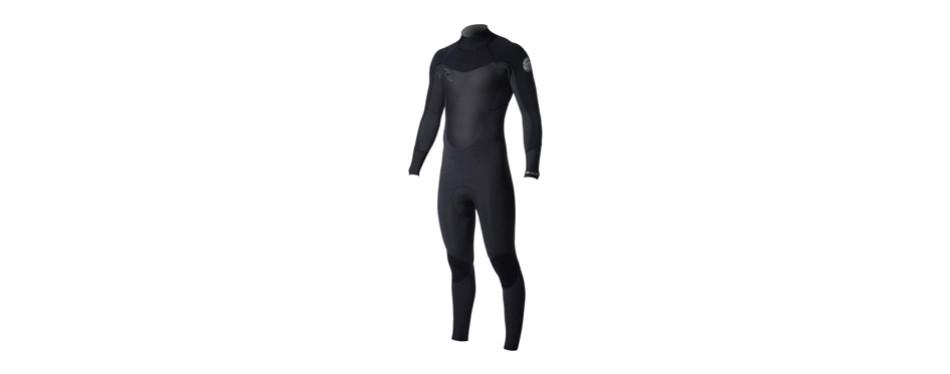 rip curl dawn patrol 3/2 back zip men's full wetsuits
