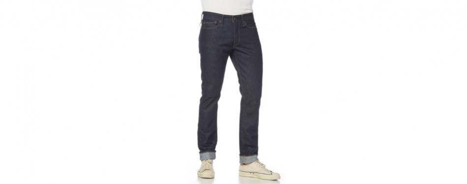 Rising Sun Jeans Straight Razor Indigo Raw American Made Jeans