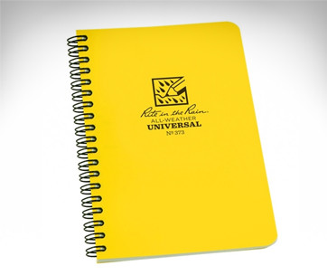 rite in the rain weatherproof soft notebook