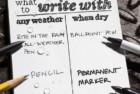 rite in the rain weatherproof soft notebook