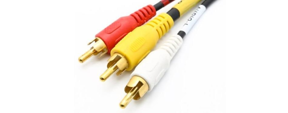 riteav rca audio video cable