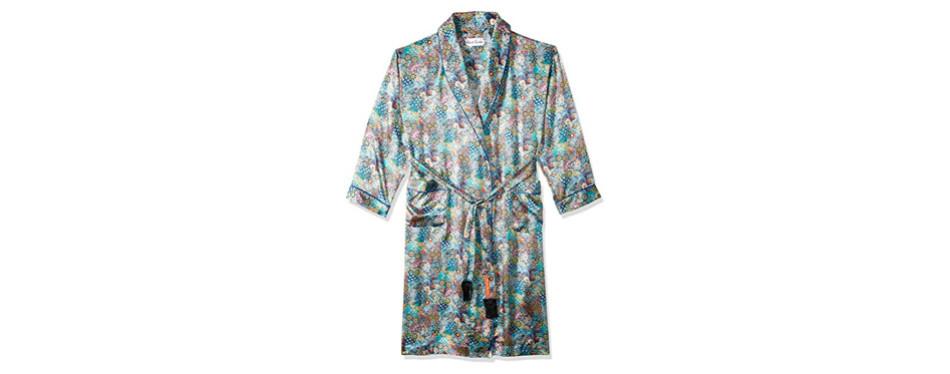 robert graham men's sira silk shawl robe