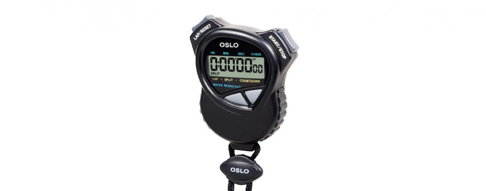robic stopwatch with countdown timer