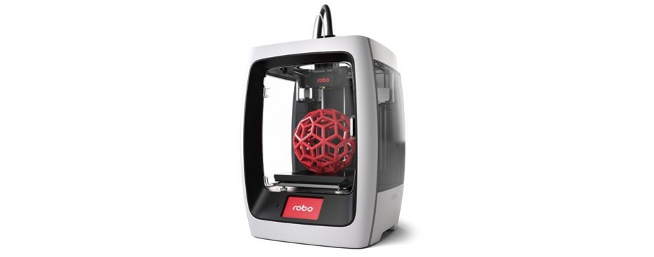 robo r2 smart assembled 3d printer