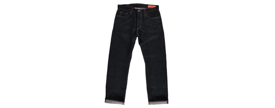rocker raw indigo classic american made jeans
