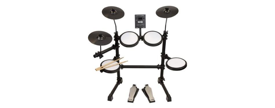 rockjam mesh head kit, eight-piece electronic drum kit
