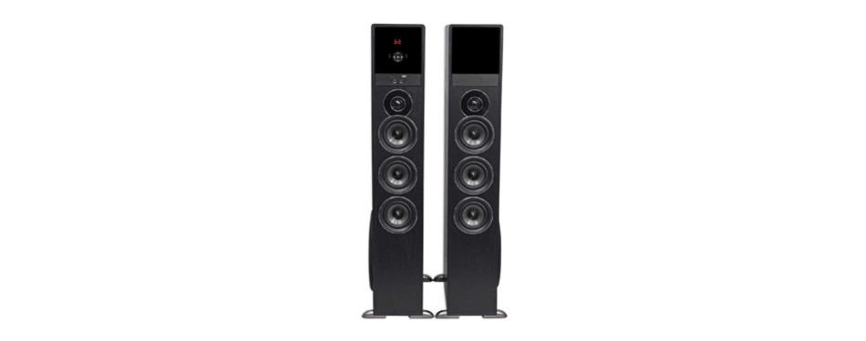 rockville tm150b home theatre system tower speakers