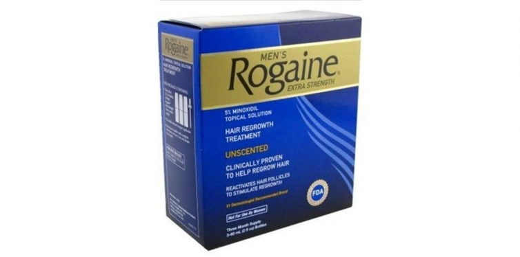 Rogaine Mens Regrowth X-Strength 5 Percent Unscented