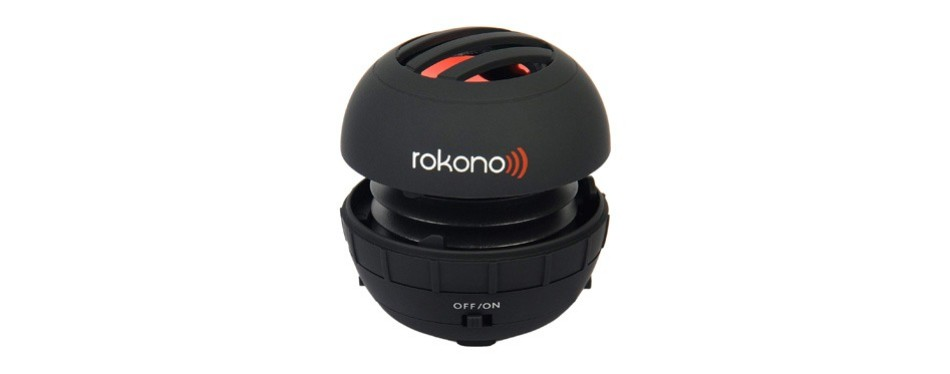 rokono bass+ mini speaker