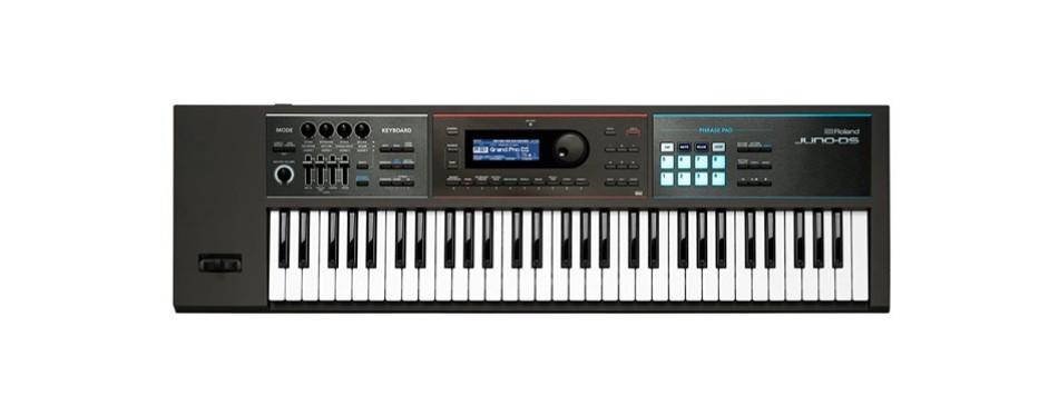 roland lightweight, 61-note weighted-action keyboard