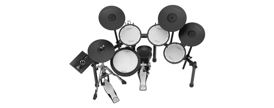 roland v-compact series electronic drum kit (td-17kvx-s)