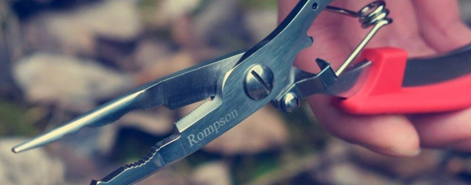 rompson f1 stainless steel needle nose fishing pliers