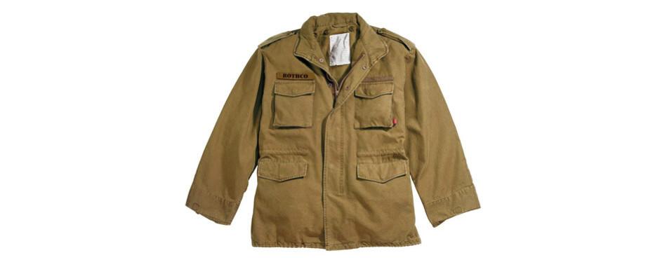 rothco vintage m65 field jacket