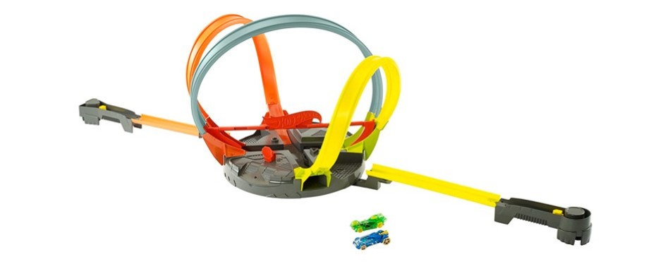roto revolution hot wheels track playset