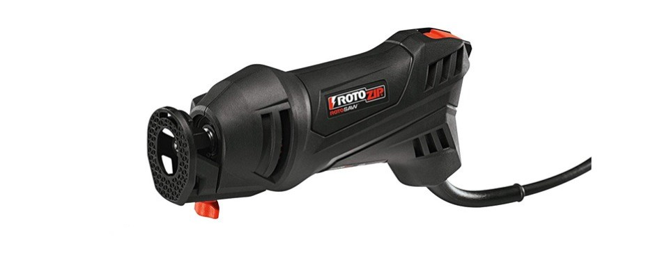 rotozip 5.5 amp high speed spiral saw system