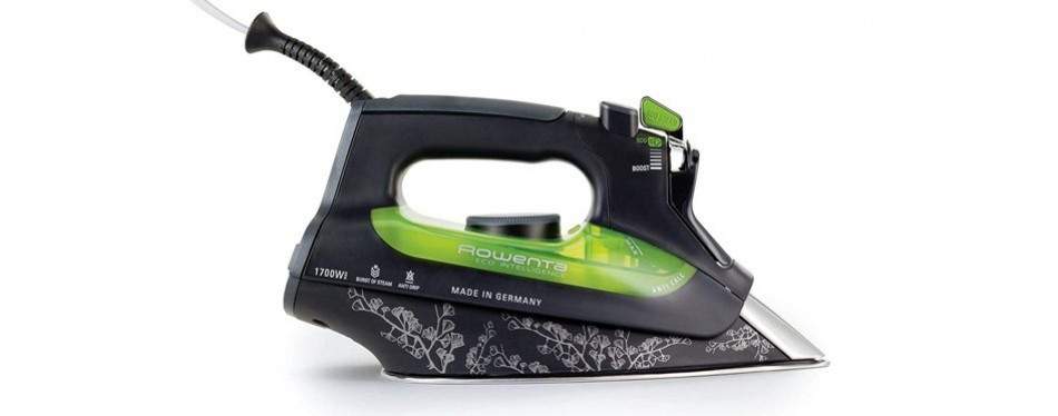 rowenta dw6080 eco-intelligence steam iron