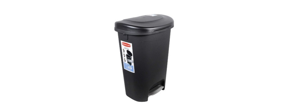 rubbermaid 2007867 step-on lid trash can