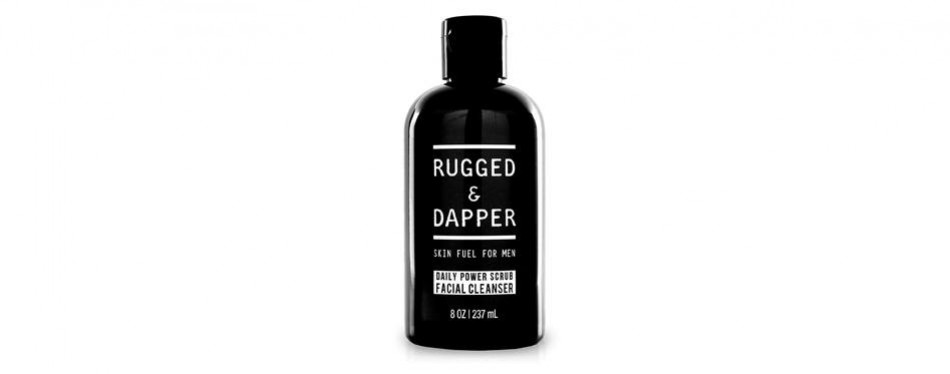 rugged and dapper foaming scrub