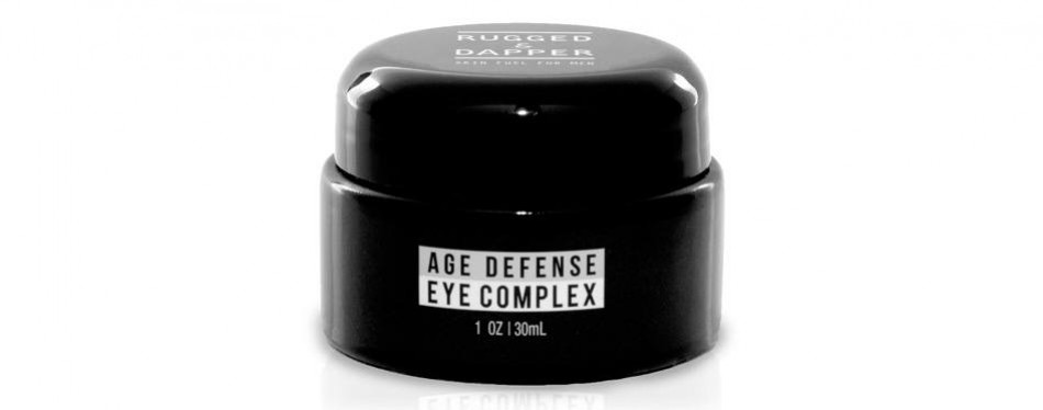 rugged & dapper - eye cream for men