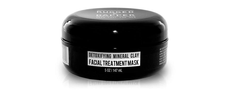 rugged & dapper kaolin clay face mask for men