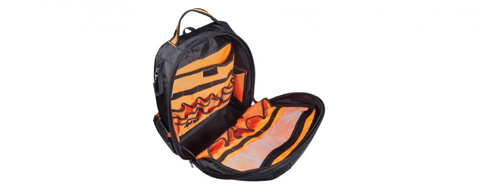 rugged tools worksite tool backpack