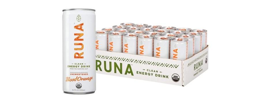 runa organic clean energy drink
