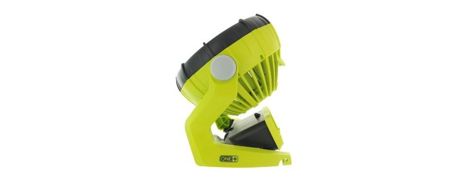 ryobi 18 volt hybrid indoor / outdoor shop fan