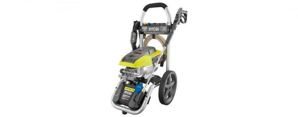 ryobi high-performance electric pressure washer