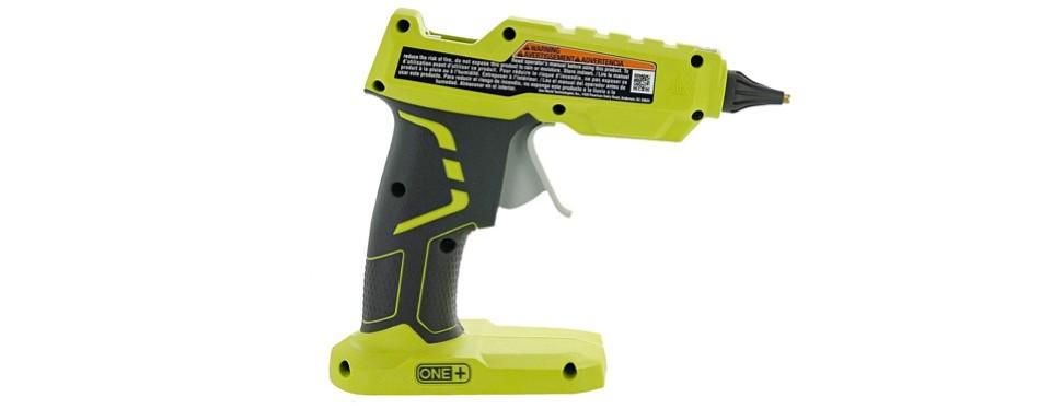 ryobi one+ 18v cordless hot glue gun