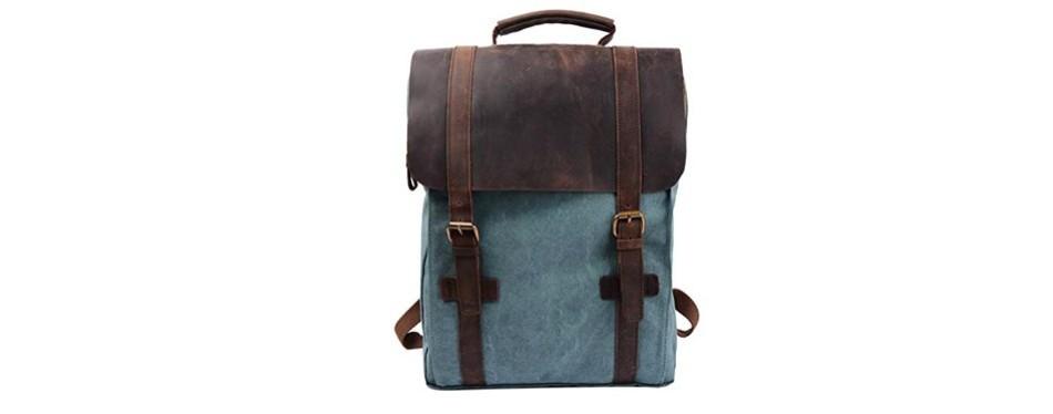 s-zone retro canvas travel pack