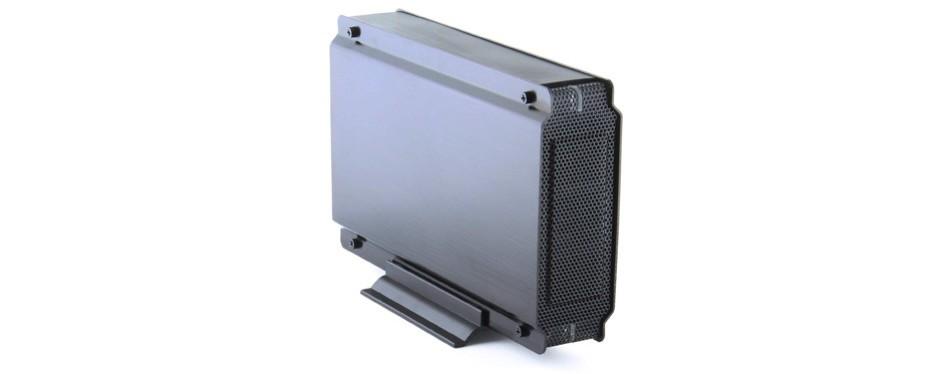sabrent aluminum hard drive enclosure case