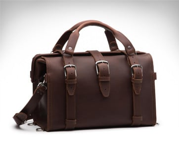 Saddleback Leather Doctor's Overnight Bag