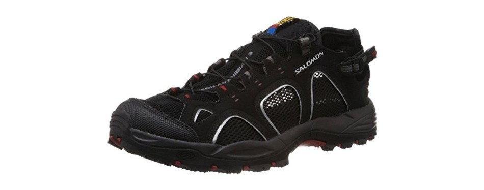 salomon men's techamphibian 3 trail running shoe