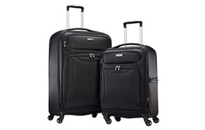samsonite ultralite extreme 2-piece luggage set