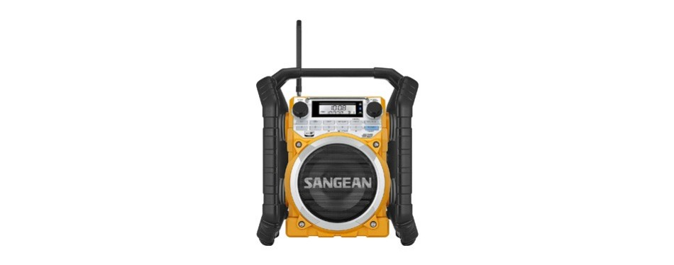 sangean u4 rugged rechargeable digital tuning radio