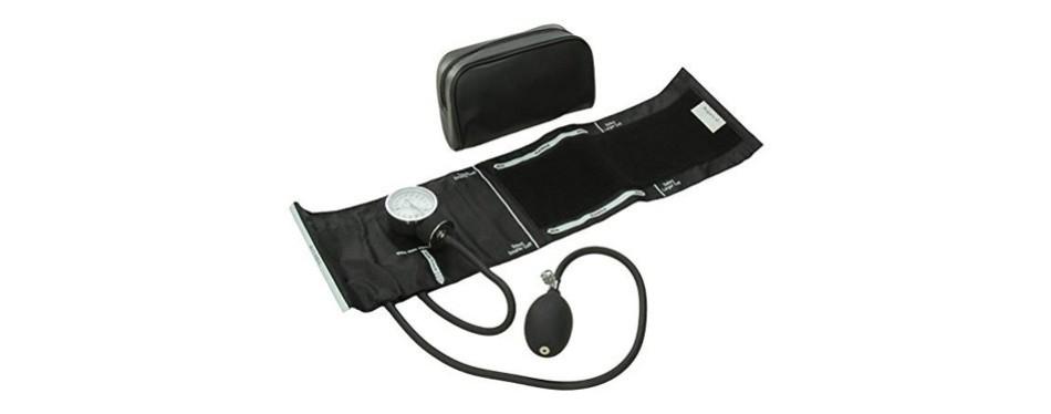 santamedical adult deluxe aneroid sphygmomanometer - professional blood pressure monitor