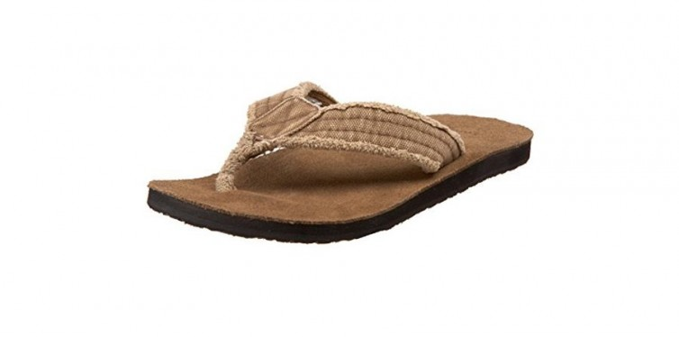 sanuk men's fraid not flip flop