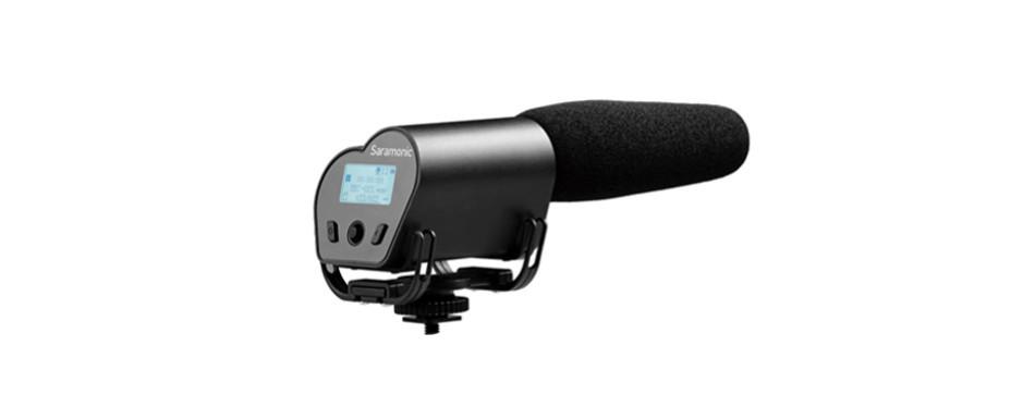 saramonic vmic recorder super-cardioid microphone