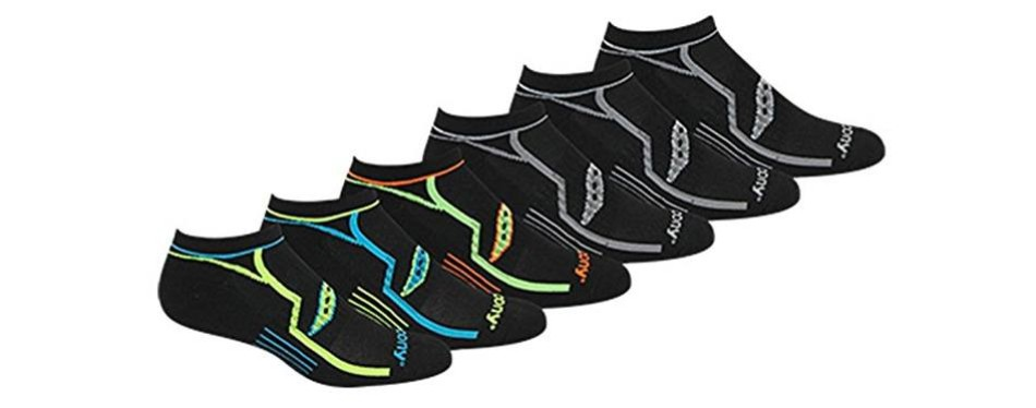 saucony performance comfort running socks