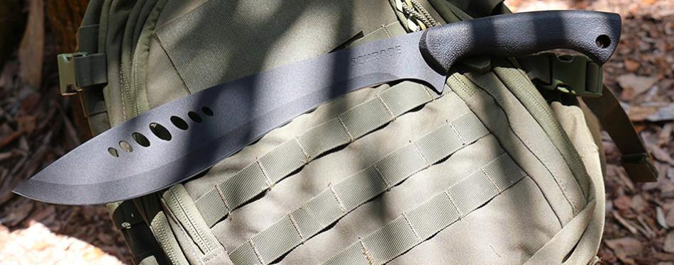 schrade schkm1 19.7in kukri machete